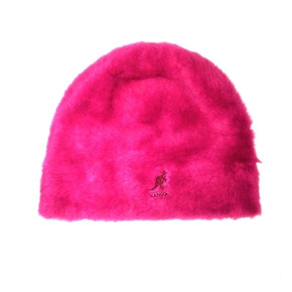 5c6f5f3cd05 Kangol Accessories -   SALE   EUC Pink Angora   Nylon Kangol Beanie
